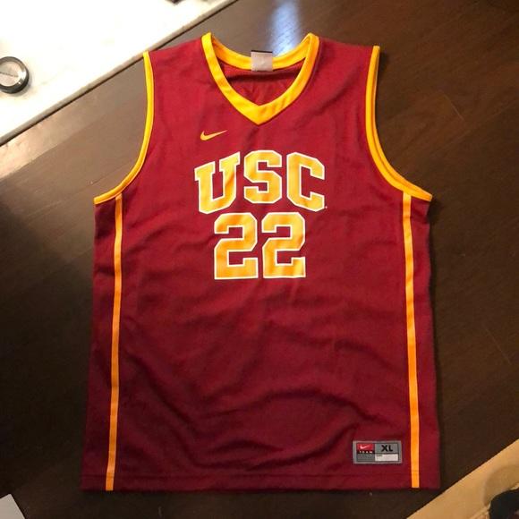 promo code ca390 05b25 NWOT Nike USC Trojans youth XL basketball jersey